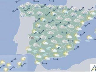 времето в Испания