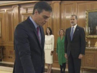 Педро Санчес встъпи