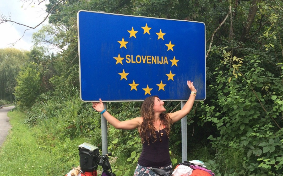 Cycling a Motorway, Italy & Slovenia Sandals
