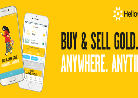 HelloGold buy and sell gold anywhere anytime in Malaysia