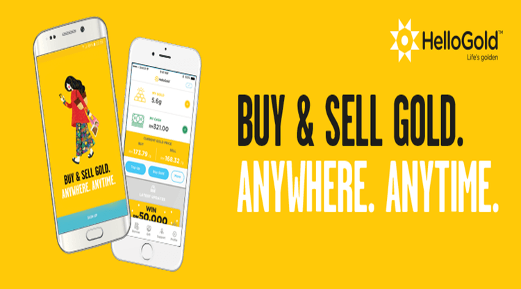 HelloGold - Invest in gold anywhere, anytime