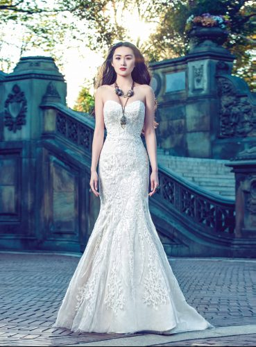 """Be Open-Minded! The Fairy Princess You Dreamed of May Have Become a Bohemian Chic! Fashionista! """"Astarte"""" by Yumi Katsura Couture"""