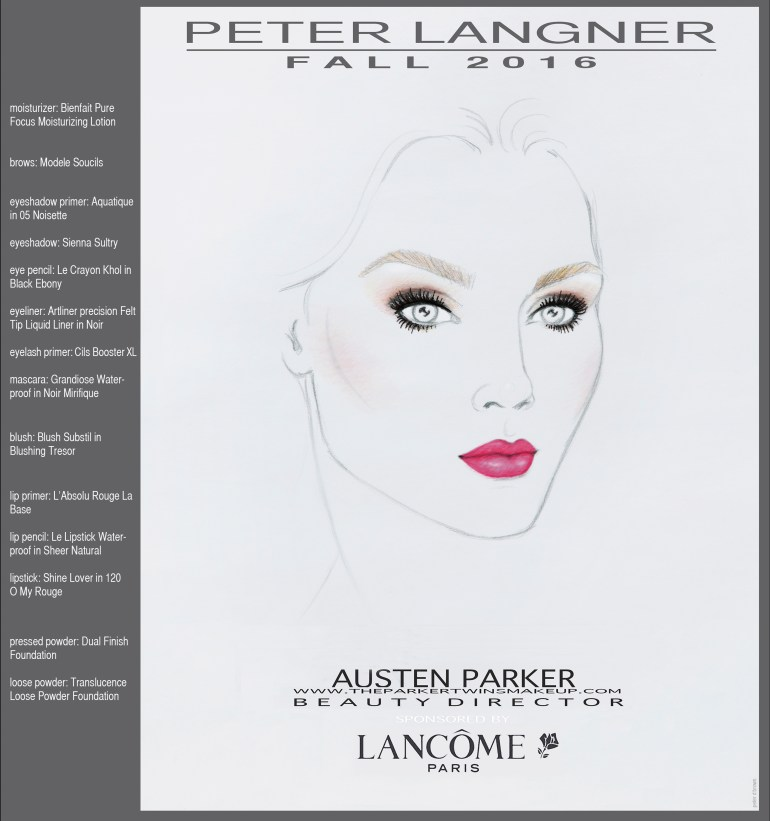 Peter Langner Makeup Look
