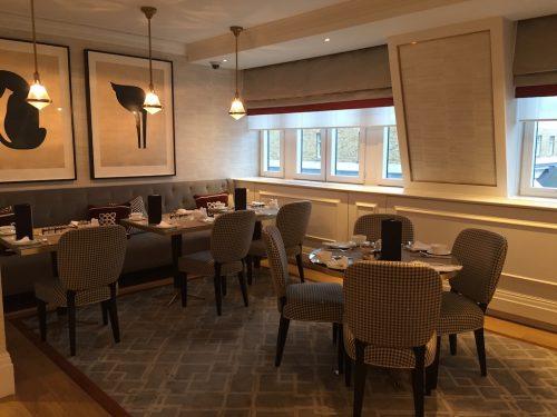 Langham London Club Lounge