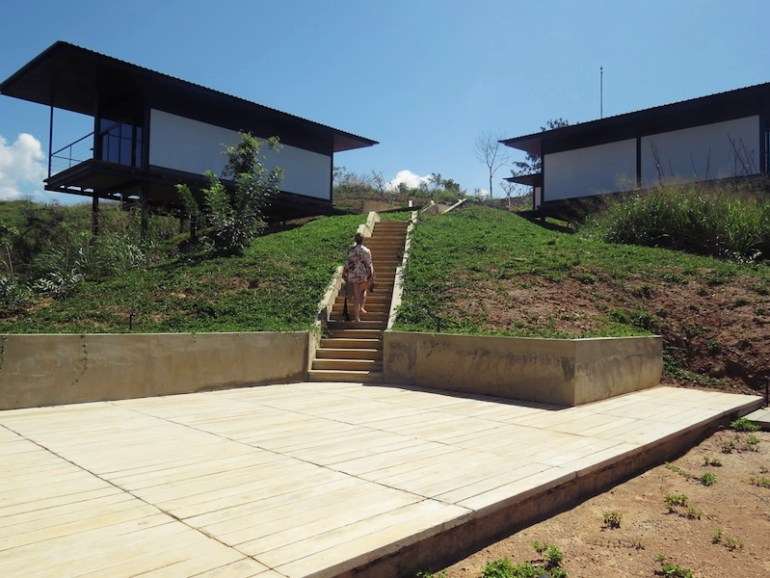 Santani stairs