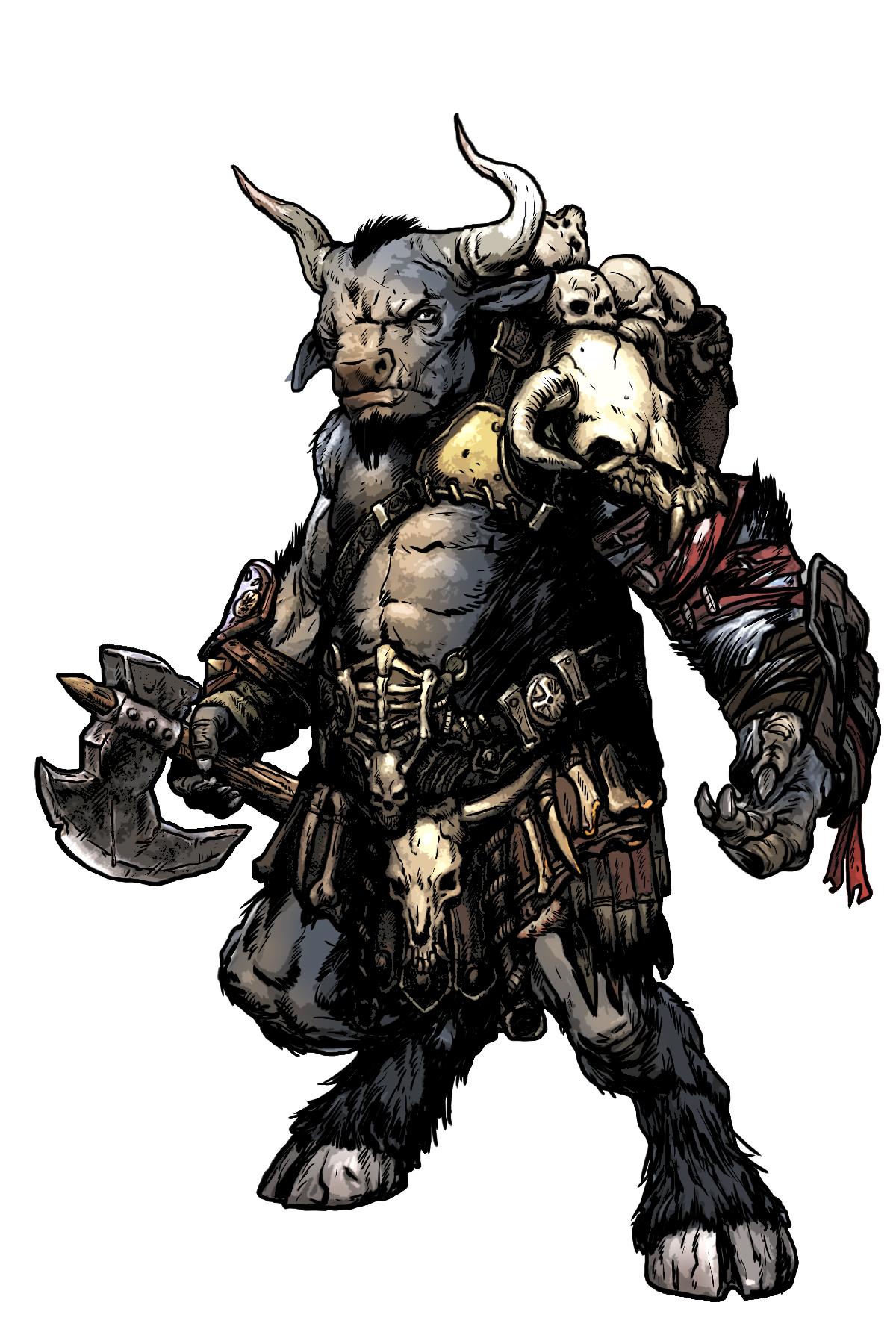 Baphomet 5e : baphomet, Weapons, Demon, Lords:, Heartcleaver, Butcher, World, Builder