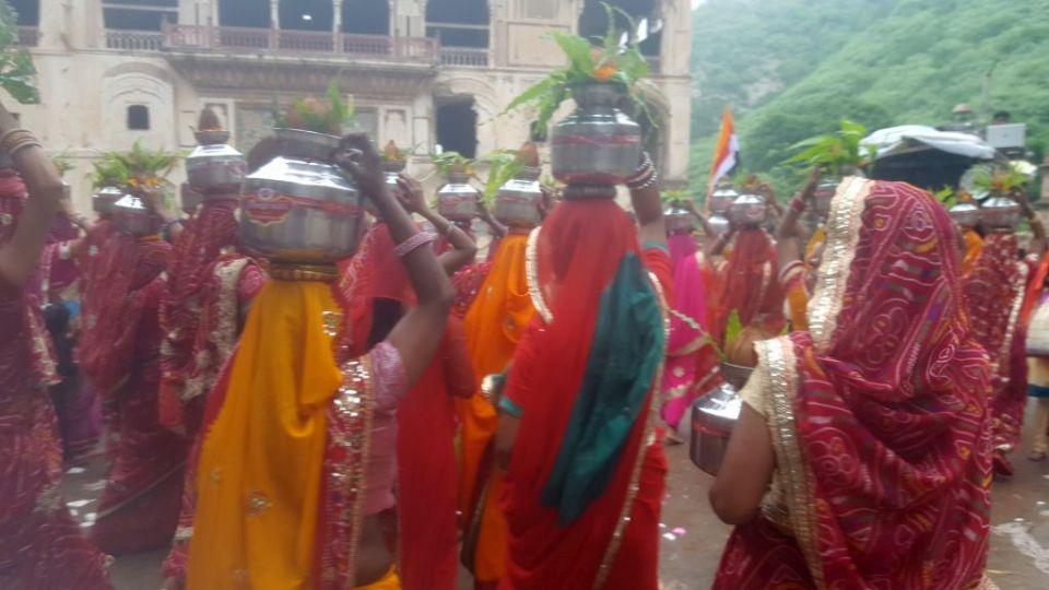 Monkey Tempel Jaipur