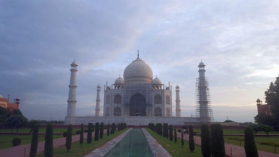 alleinreisende Frau Indien, Taj Mahal