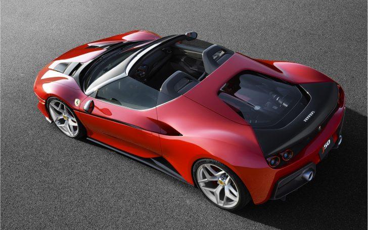 フェラーリj50の上から画像