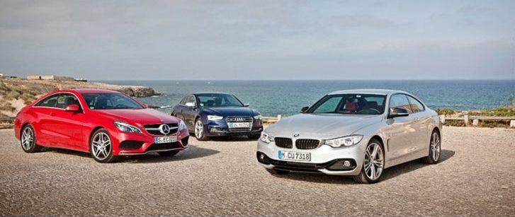 3台の高級車