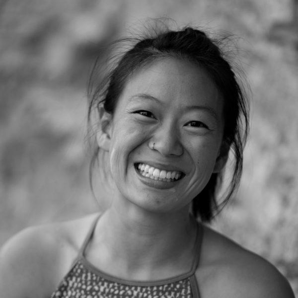 Valerie Shao Climb Portrait BW