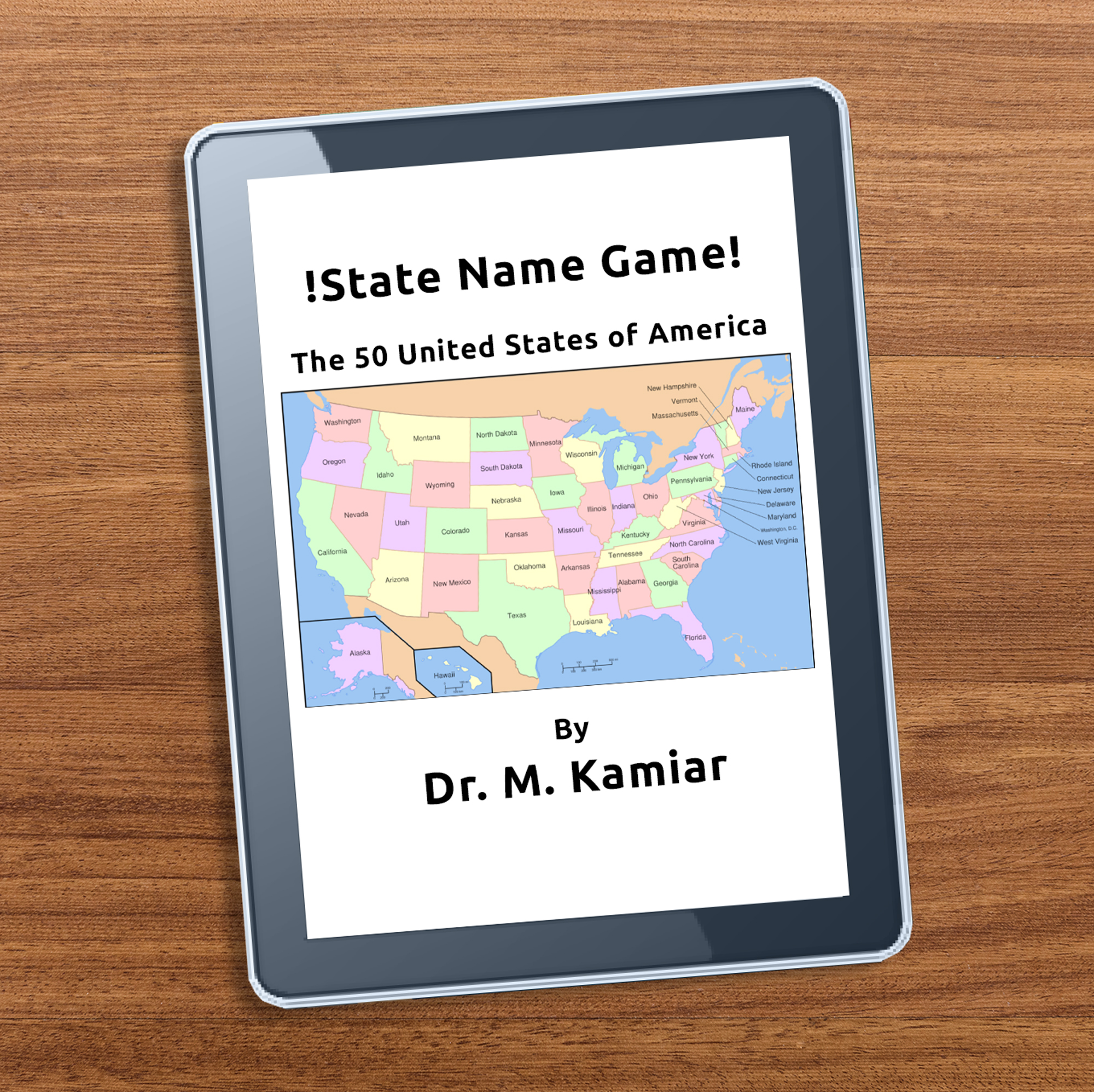 2. State Name Game – The 50 United States Of America – World Cl on