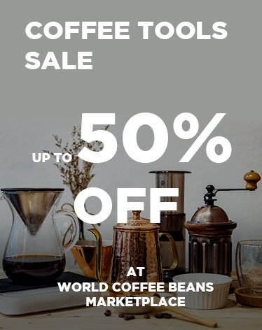 Coffee Tools Sale at World Coffee Beans Marketplace