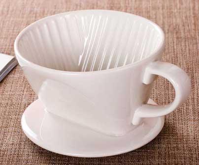 Керамическая кофе воронка