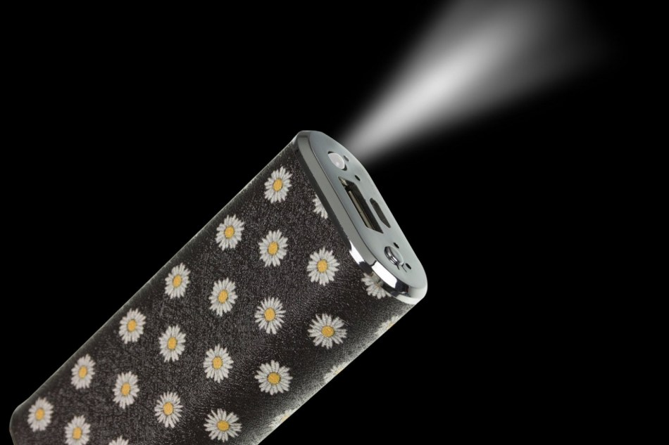 Acumulator universal extern Trendz Fashion Daisy 4000 mAh, cablu microUSB inclus ..