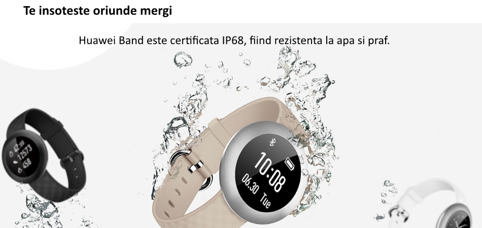 Bratara Smart Huawei Band B0, Negru.3