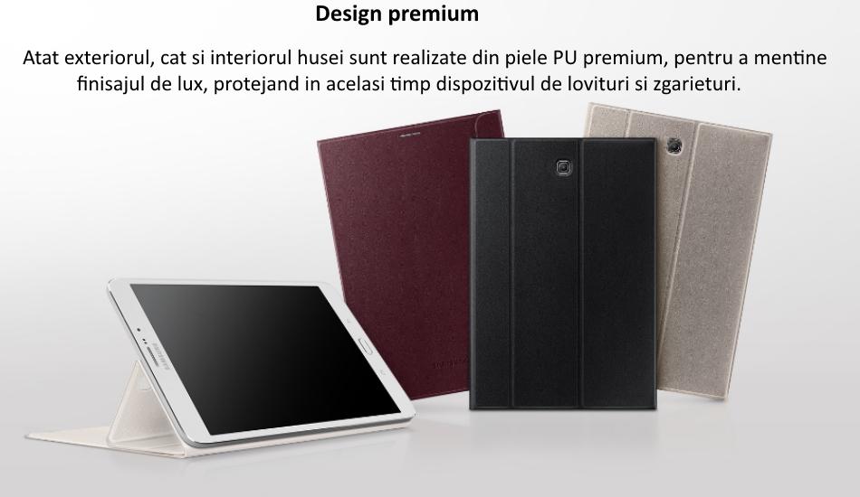 Husa Stand Book Cover pentru Samsung Galaxy Tab S2 8.0 inch LTE 1