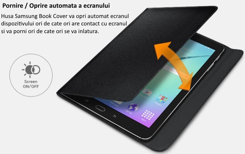 Husa Stand Book Cover pentru Samsung Galaxy Tab S2 9.7 inch 2