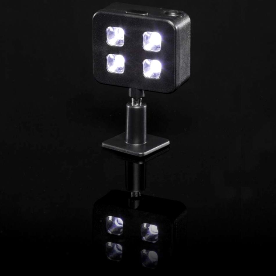 Selfie flash LED pentru smartphone-uri si tablete, Negru 9