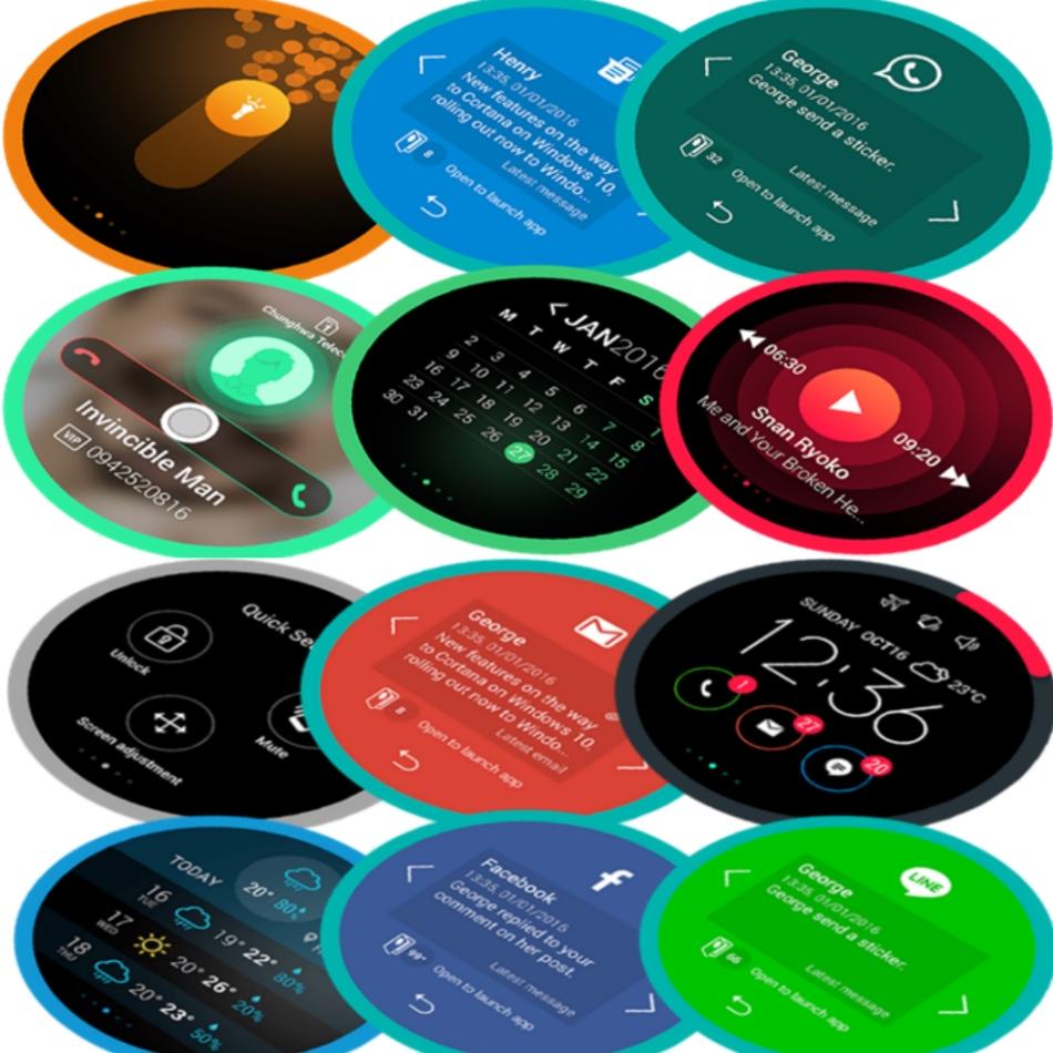 Husa View Flip Cover Black pentru Asus Zenfone 3 ZE520KL, 90AC01D0-BCV008 6