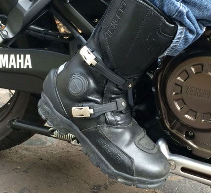 Cyclegear - Sedici Maximo Waterproof Adventure Motorcycle Boots ...