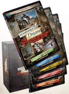 Achievable Dream – Motorcycle Adventure Travel Guide – Collectors Set