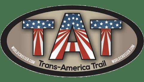 Trans-America Trail Motorcycle Sticker