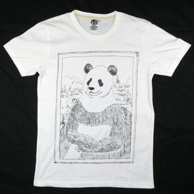 「パナ・リザ」Tシャツ