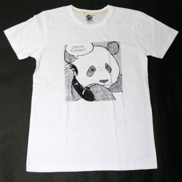 「ALRIGHT」パンダTシャツ