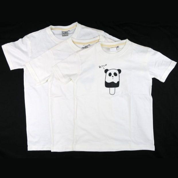 「パンダポップ」Tシャツ キッズサイズ S,M,L