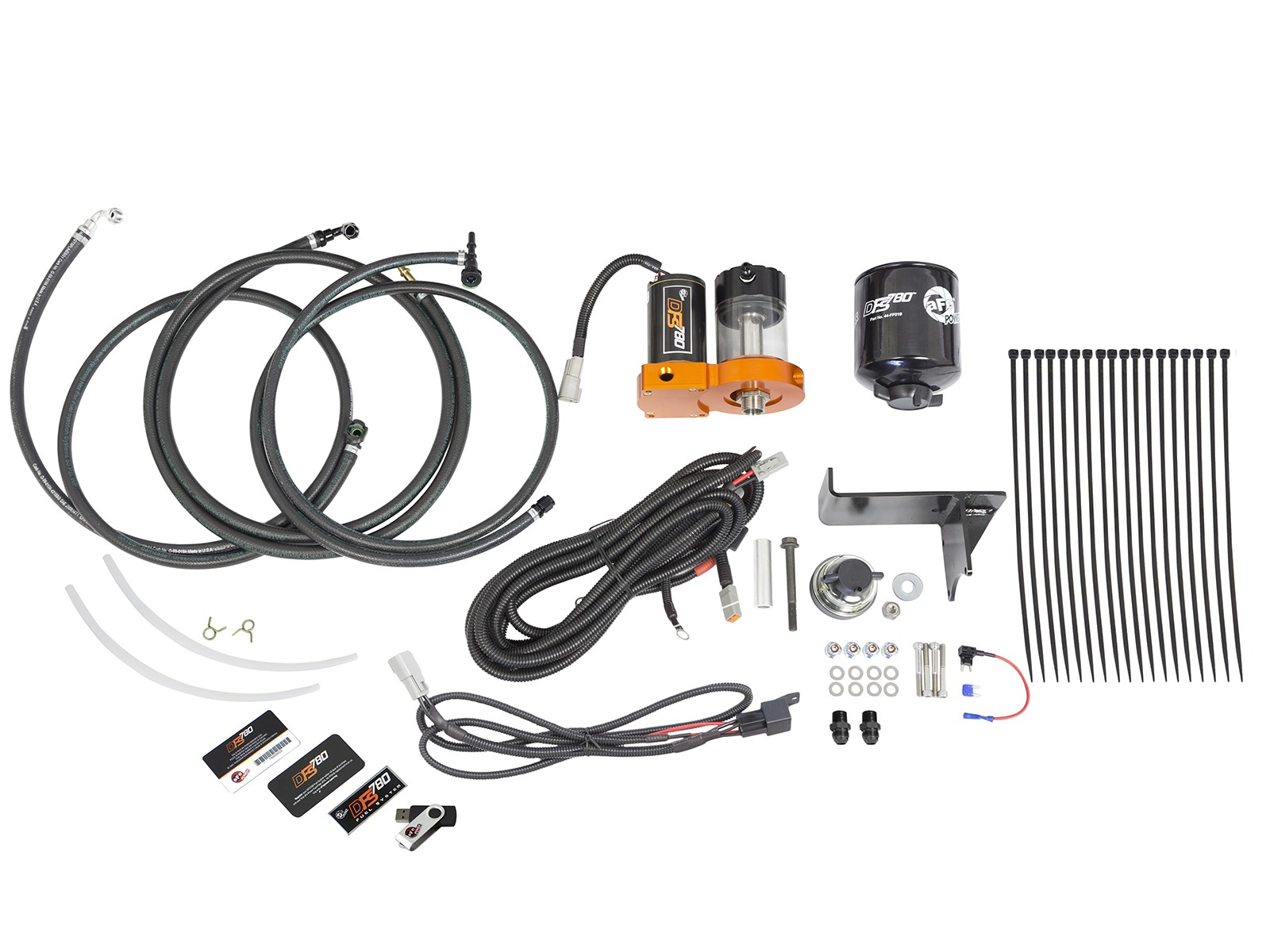 13-16 6.7L Dodge Cummins AFE DFS780 Fuel System