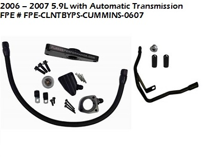03-07 5.9L Dodge Cummins Coolant Bypass Kit