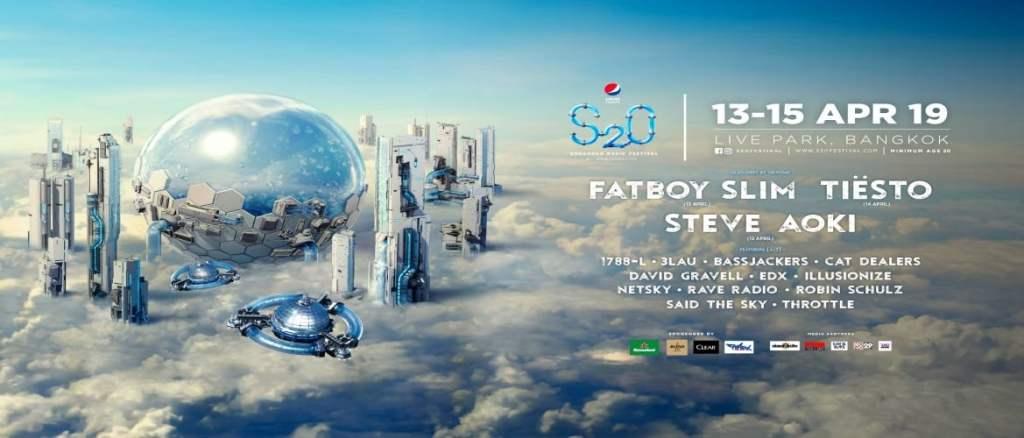 S2O Songkran Music Festival Bangkok 2019! - World DJ Festivals