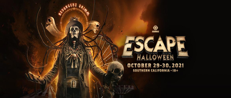 Escape Halloween 2021, dj festival, hardstyle, event, California