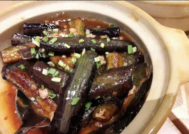 Stir-Fried Eggplant with Minced Pork