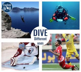 learn different meanings of the word dive