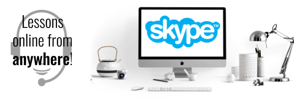 Eikaiwa lessons can also happen on Skype! 英会話スカイプレッスンも出来ます!