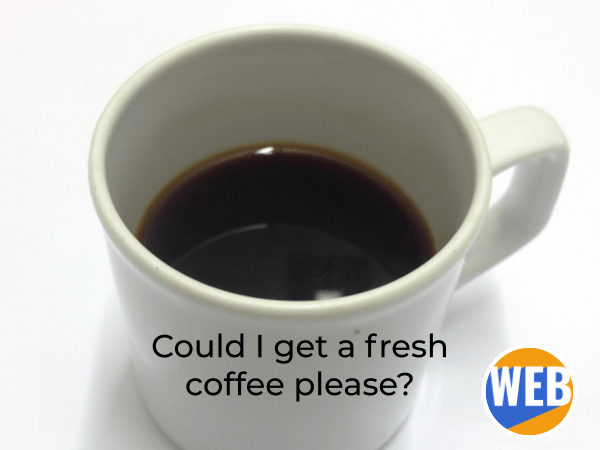 Suffix -ish. My coffee is kind of warmish.