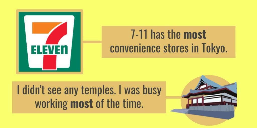 7-11 has the most convenience stores in Tokyo.