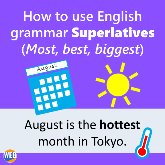 English grammar Superlatives