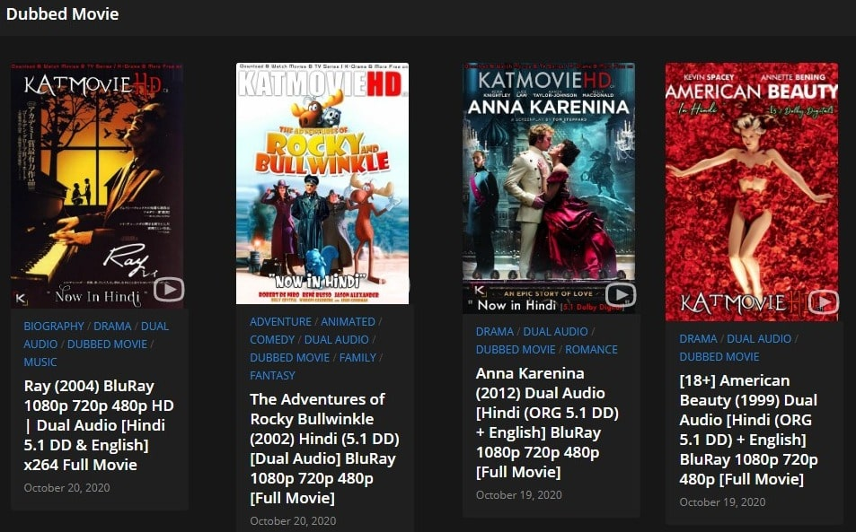 KATMOVIEHD - Download All Movies | Hollywood TV Series | Korean Drama Series In Hindi + English (Dual Audio) 480p | 720p | 1080p