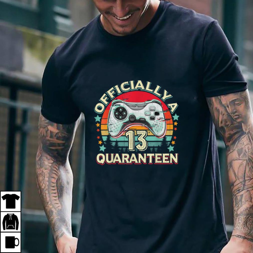 13th Birthday Video Game Quaranteen Teenager Vintage T Shirt