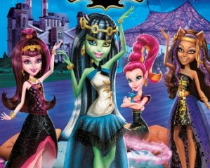 Monster High: 13 Wishes (2013) Hindi Dubbed Free Download 720p 150MB