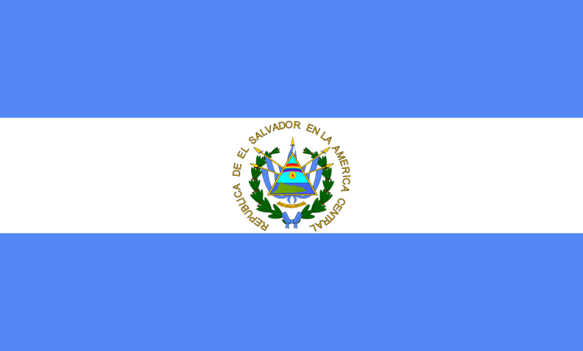 El Salvador Flag Worldflags