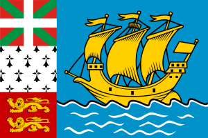 Flag of Saint-Pierre and Miquelon