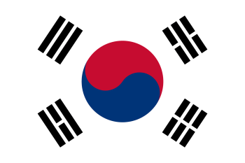 Korea, South Flag