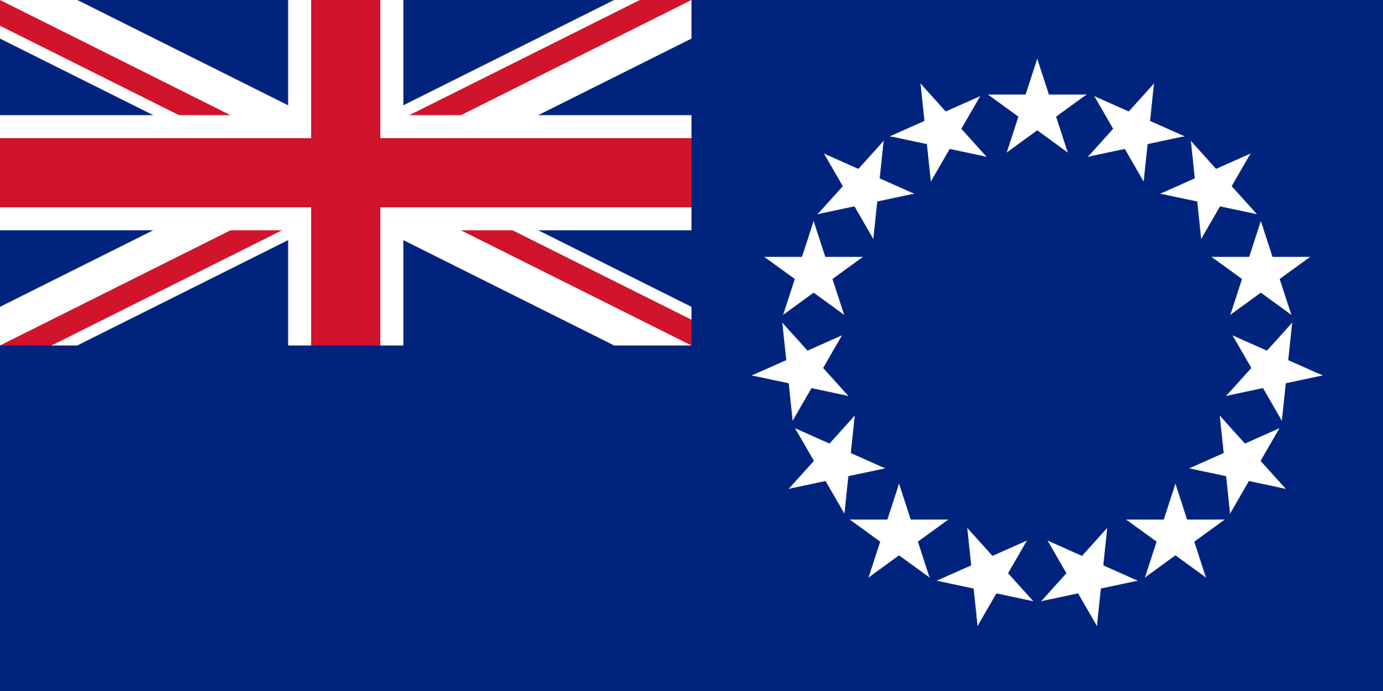 Flag of the Cook Islands
