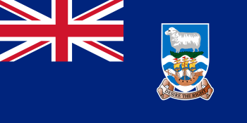 Falkland Islands (Islas Malvinas) Flag