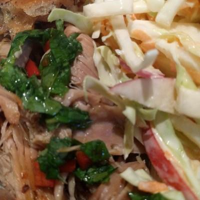 Southern-Style Pork & Slaw