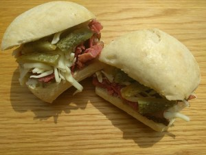 Montreal Smoked Meat Sandwich